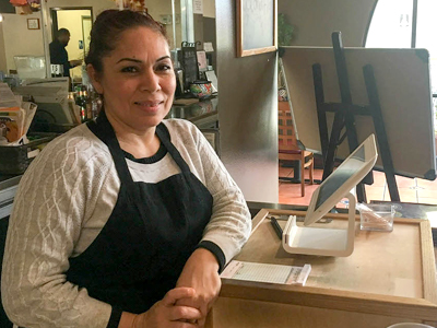 Leticia Chavez opened her own restaurant in 2007.