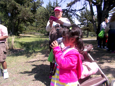 Patients and their families are benefiting from the healing power of nature via a free program by UCSF Benioff Children's Hospital Oakland and the East Bay Regional Park District.
