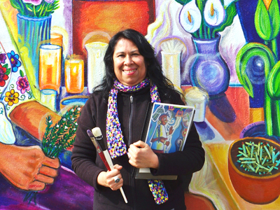 Oakland artist Xochitl Guerrero believes in creating art to inspire, empower, transform, and heal.