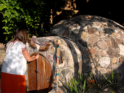 One of Mexico's most honored and oldest rituals is the temazcal, a pre-Hispanic sweat lodge used in ancient Mesoamerica as part of a curative ceremony to purify the body after battle or aid the sick.